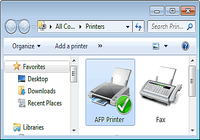 AFP Printer pour mac