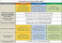 Calendrier vacances scolaires 2014 2015 - Vacances scolaires octobre 2015 ...