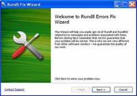 Rundll errors fix wizard activation code