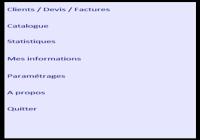 DEVIS - Devis et factures pour mac