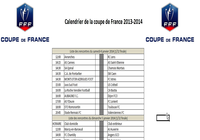Calendrier Coupe de france de Football 2014 pour mac