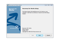 Recovery for Works pour mac