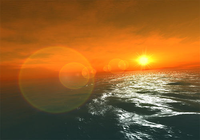 Fantastic Ocean 3D screensaver pour mac