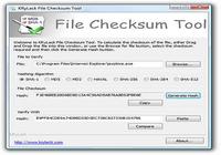 File Checksum Tool pour mac