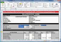 Modèles de fiches de paie cadre et non cadre pour mac